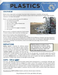 Plastics Recycling Guide